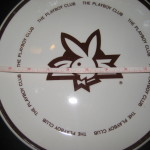 10 Inch Plate The Playboy Club 25th Anniversary