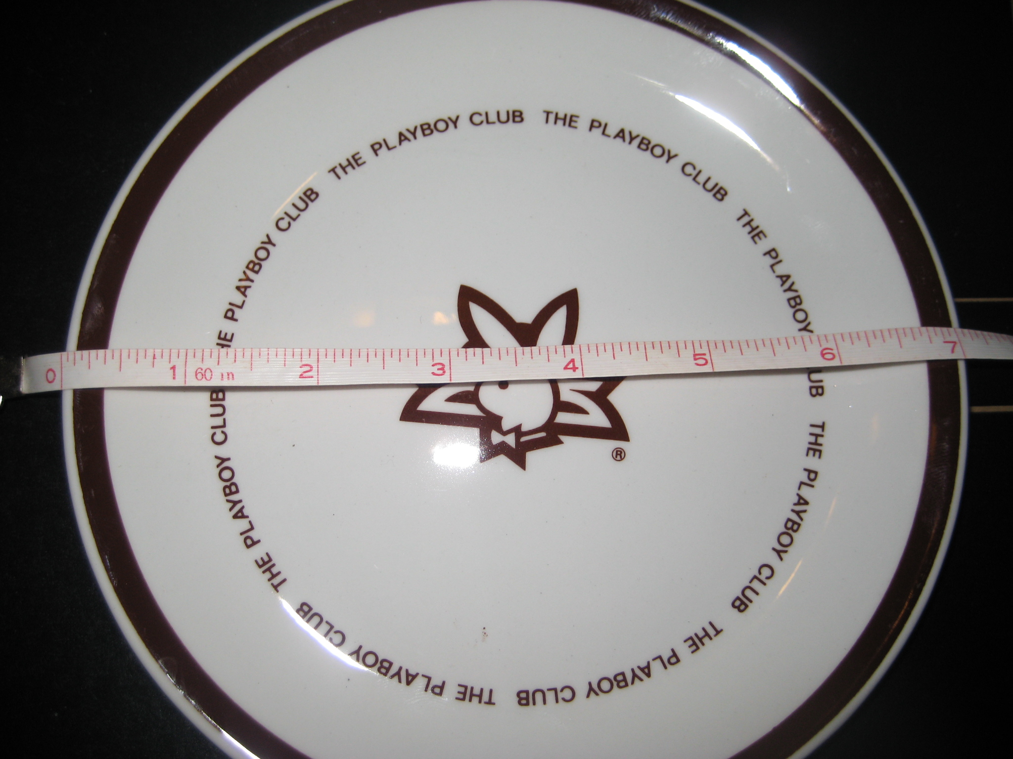 7 Inch Plate The Playboy Club 25th Anniversary