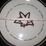 8 Inch Plate The Playboy Club 25th Anniversary