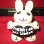 Playboy Lake Geneva Stone Bunny knick knack