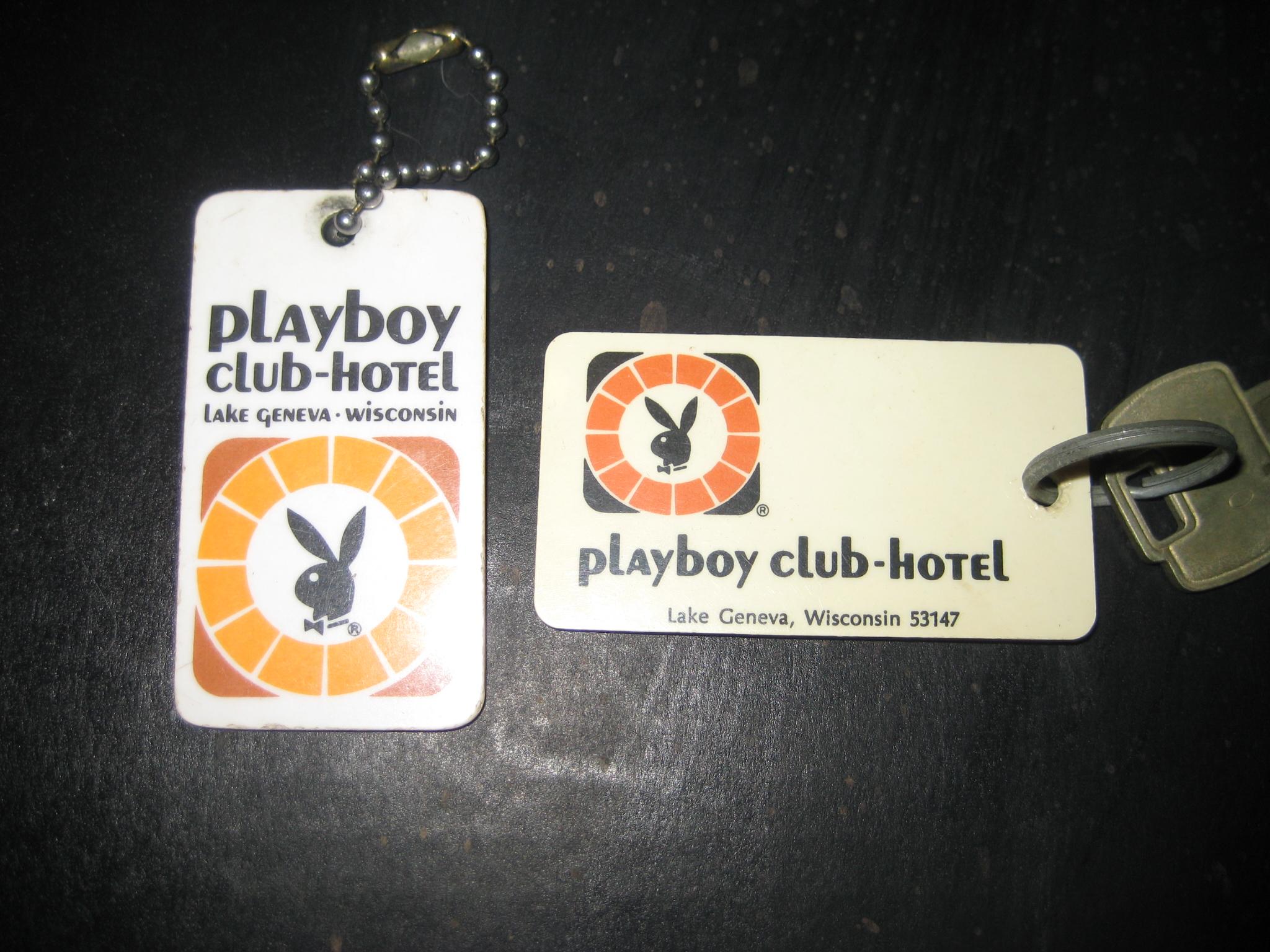 Playboy Hotel Lake Geneva Room Keys