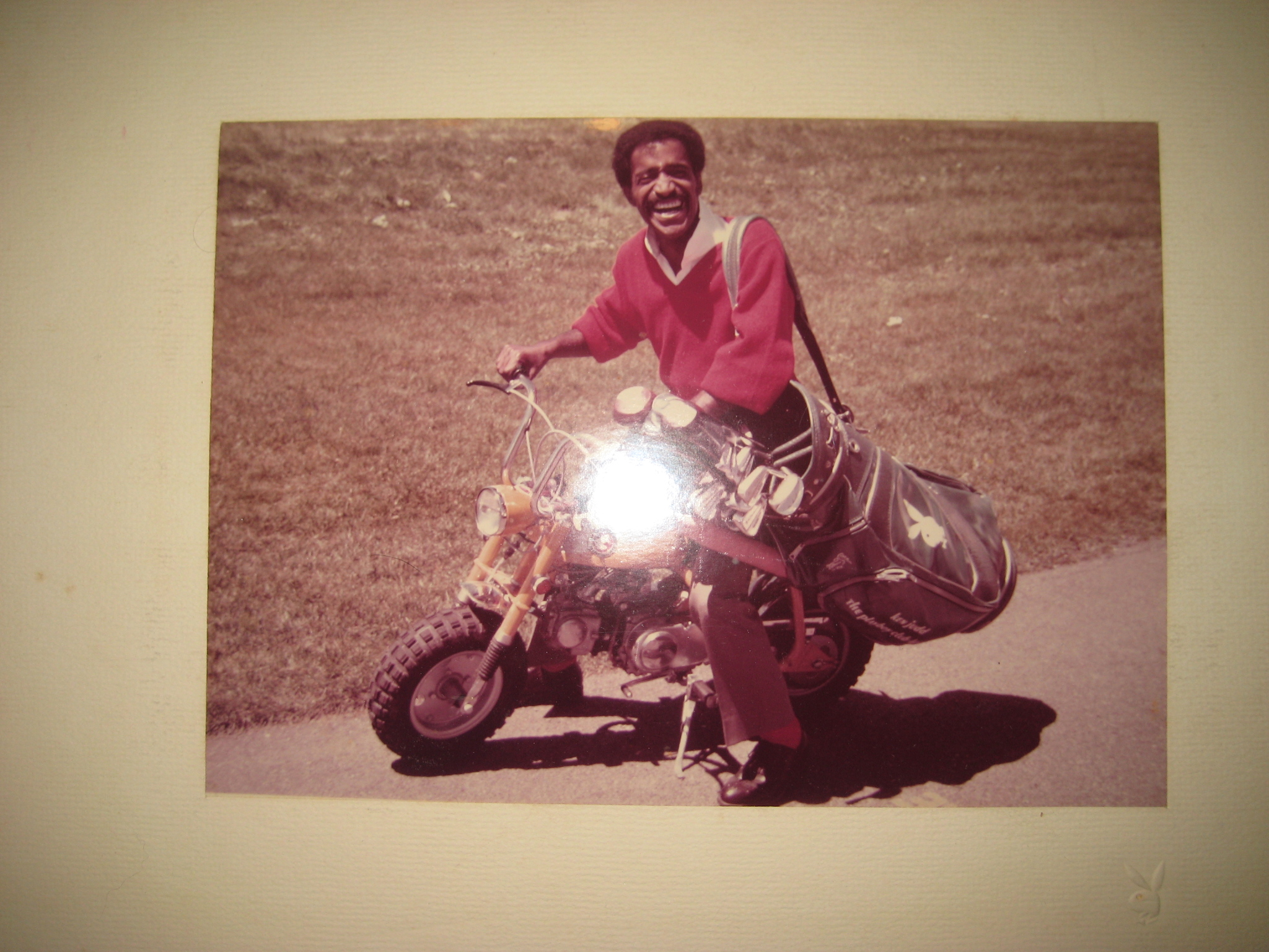 Sammy Davis Jr at Lake Geneva Playboy Club Hotel