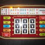 Playboy Atlantic City Slot Machine Glass