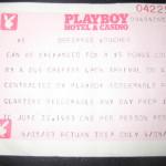 Bus Ticket Redemption Playboy Casino Atlantic City