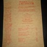 Playboy Club Lake Geneva New Years Eve Gala 1979 Menu