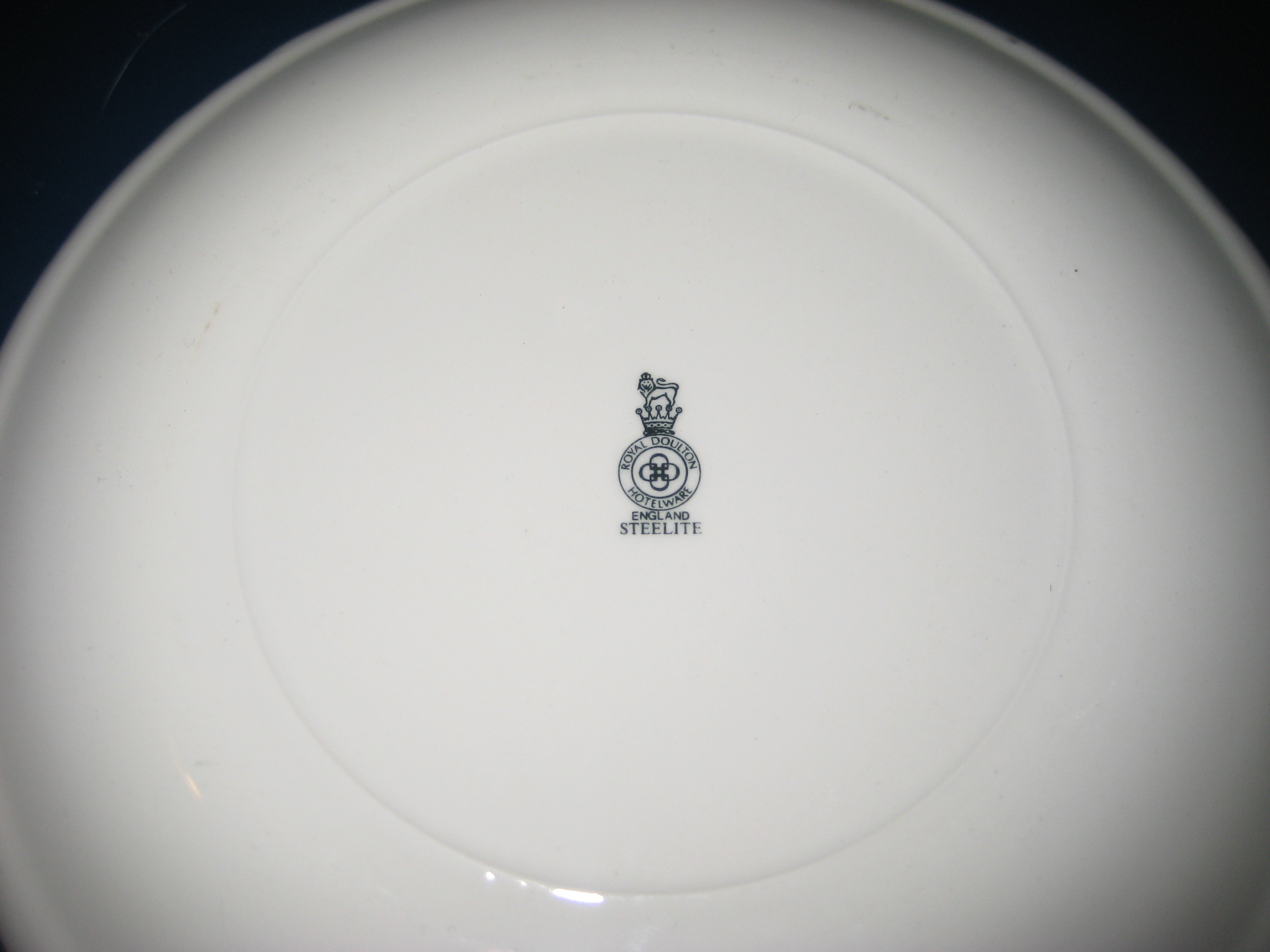 Royal Doulton 7 inch plate Playboy 25th Anniversary reverse
