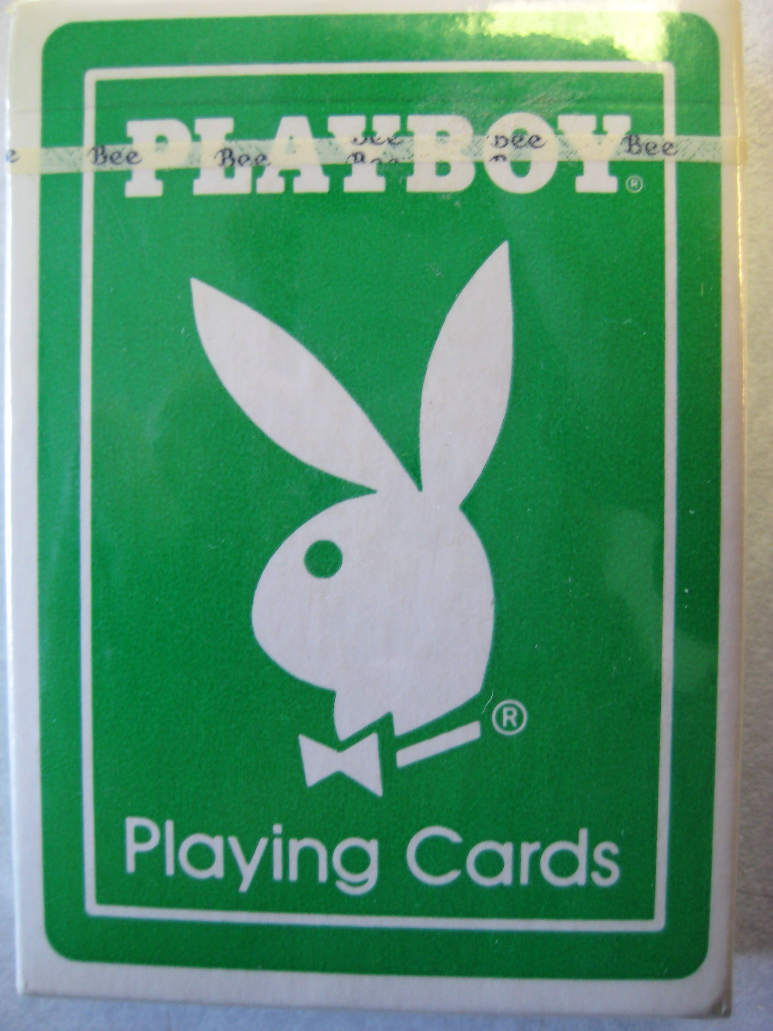 Playboy Atlantic City Rare Green Deck Playing Cards