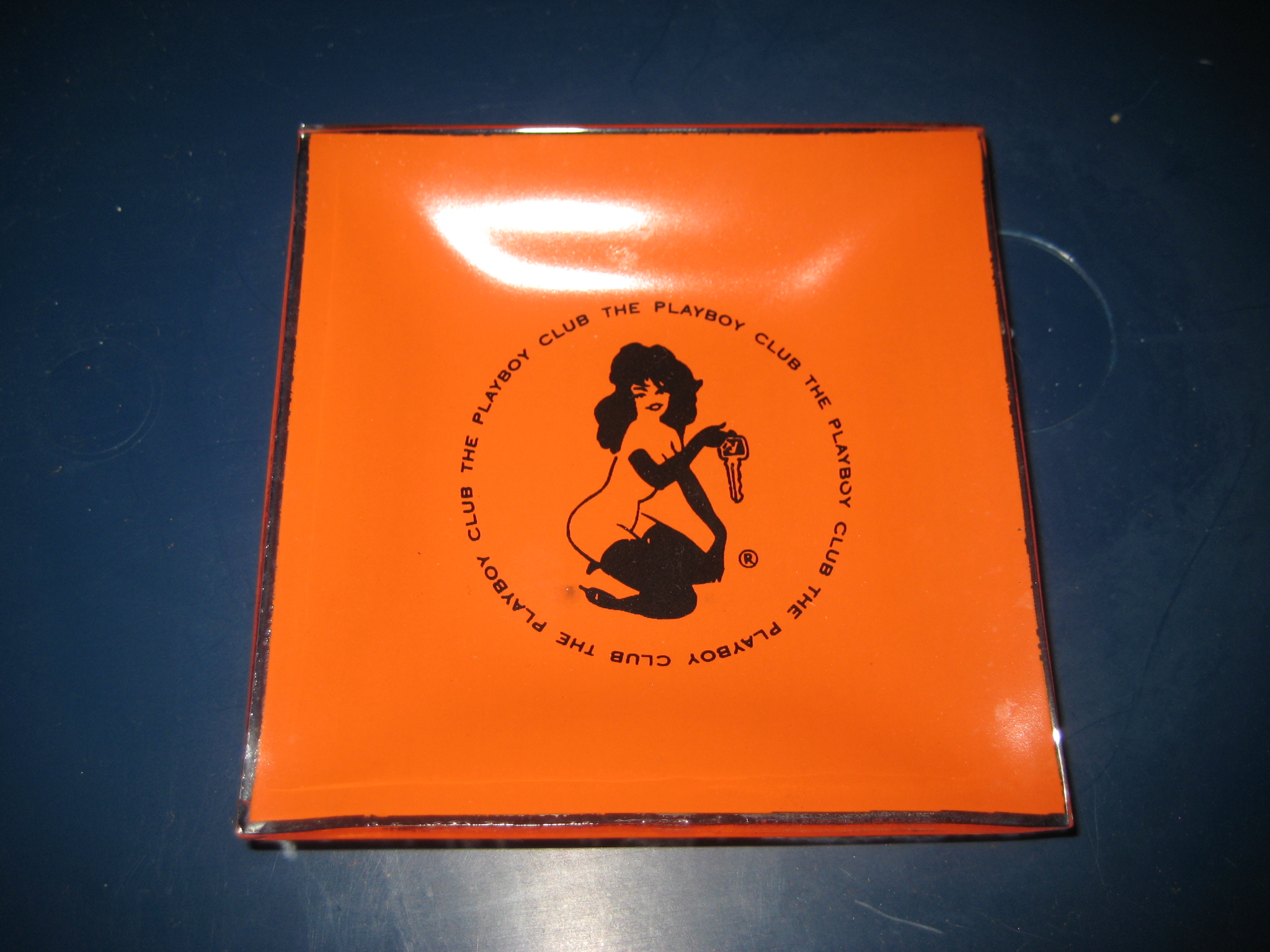 The Playboy Club Orange Femlin Ashtray