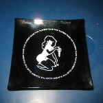 Playboy Club Black Femlin Ashtray