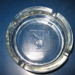 Playboy Club Clear Ashtray