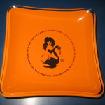 Playboy Club Orange Astray Round Corners