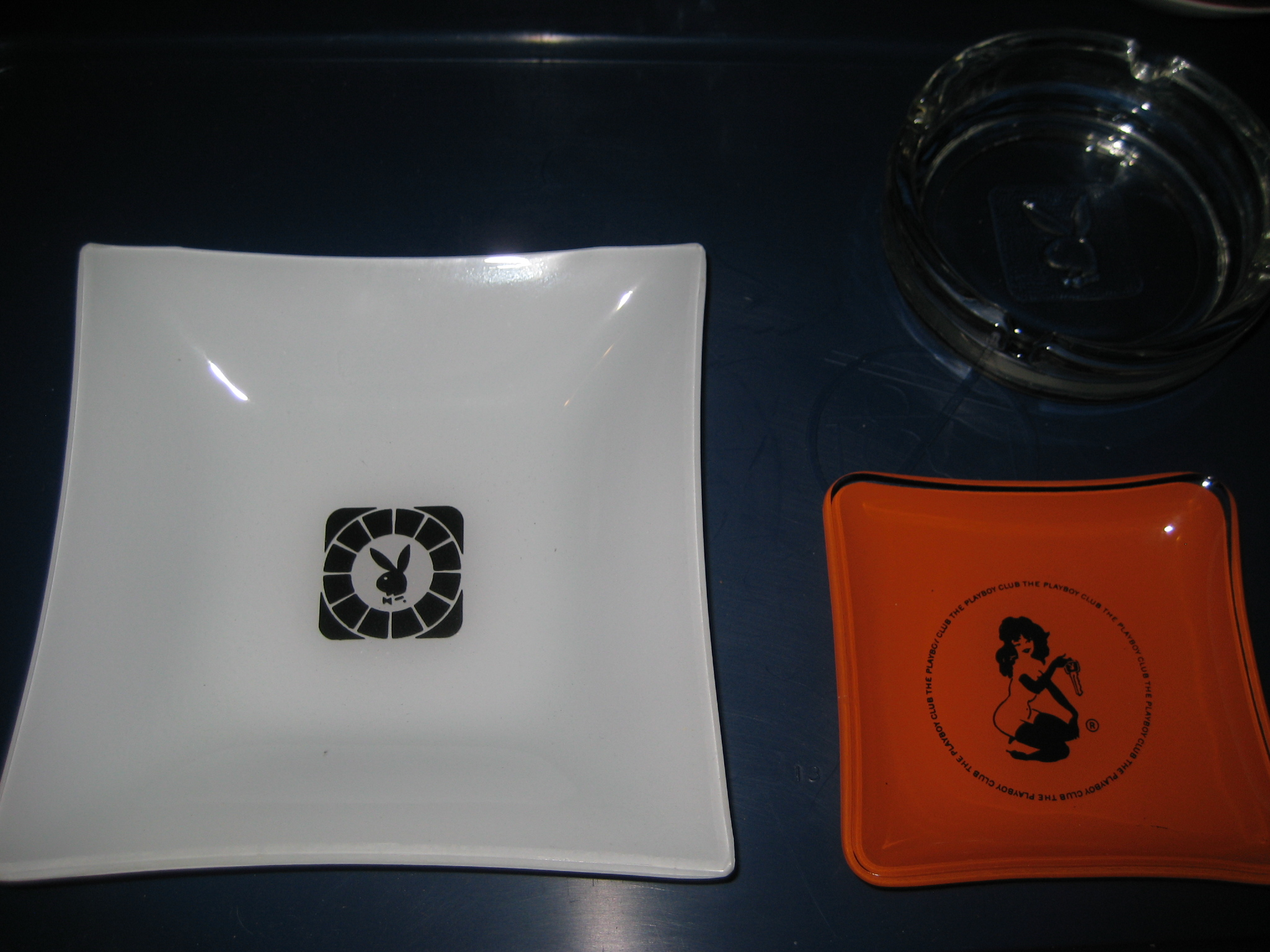 Playboy Hotel Resort 6 inch Ashtray