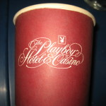 Playboy Hotel and Casino Paper Coin cup