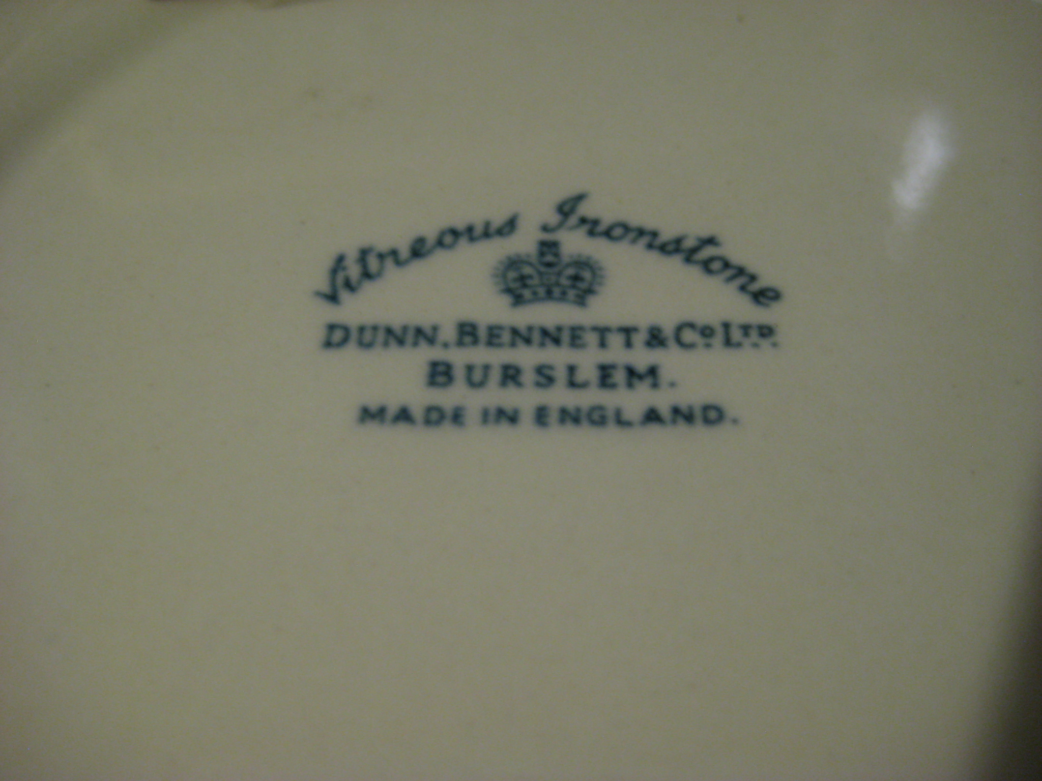 Early Dunn and Bennett Femlin Plate Playboy Club London