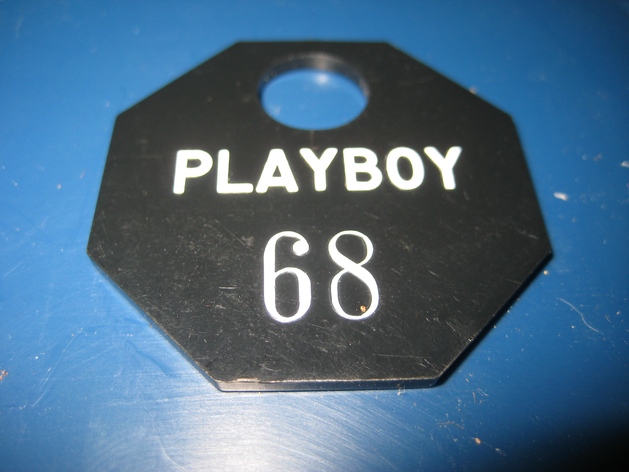 Chicago Playboy Club Coat Check