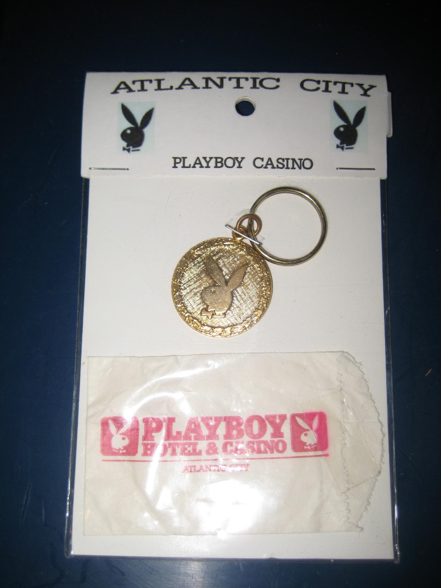 Playboy Atlantic City Key Chain