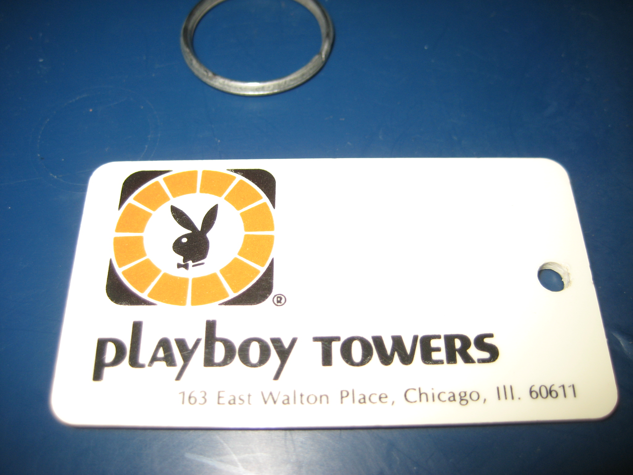 Playboy Towers Chicago room Key