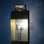 Playboy Lucite Table Lighter