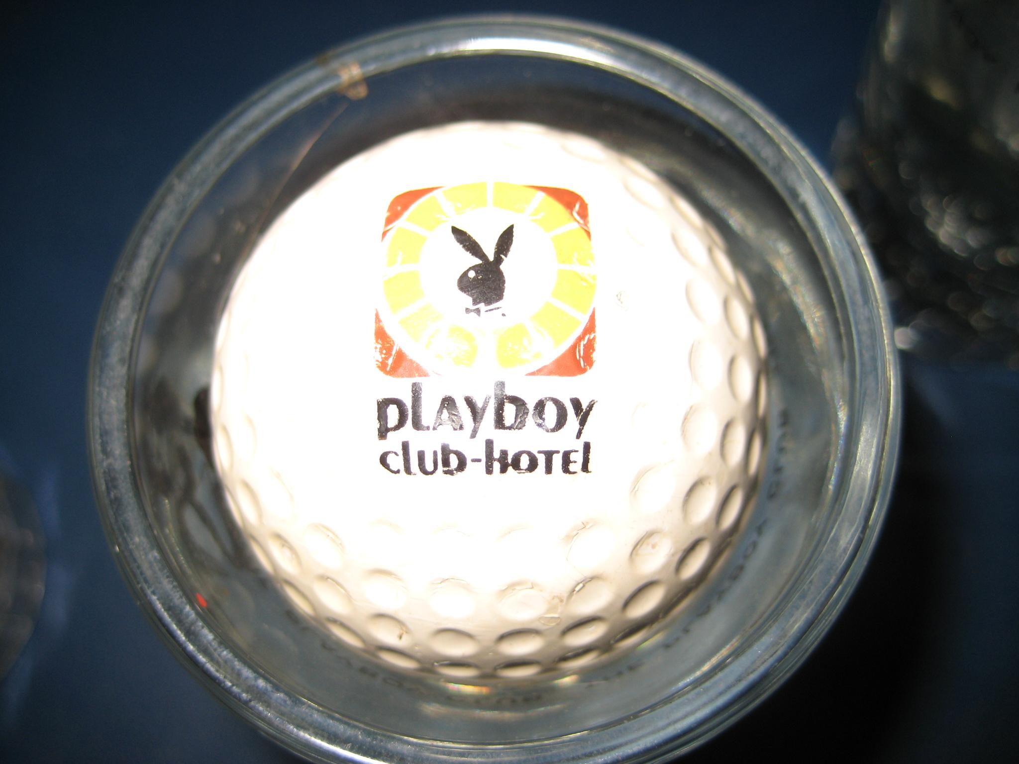 Playboy Club Hotel Golf Ball