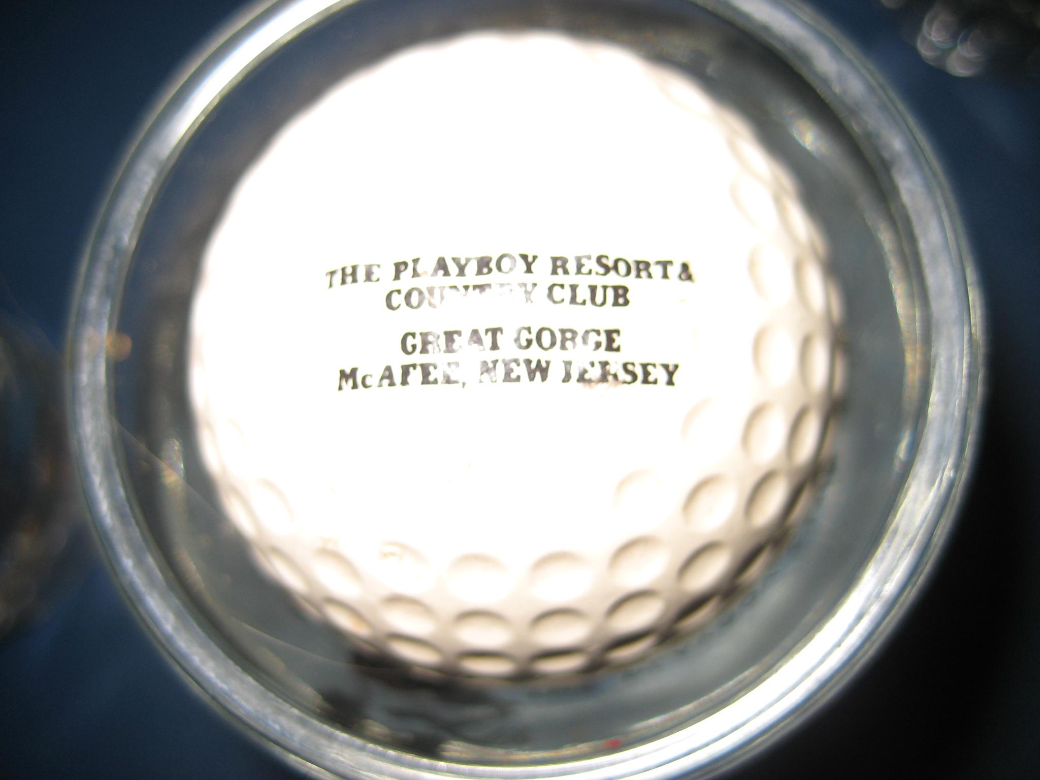 Playboy Great Gorge Golf Ball