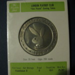 Playboy London One Pound Slot Token