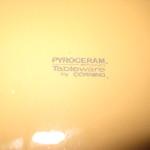 Playboy Pyroceram Plate Corning