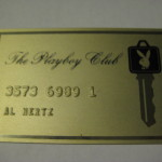 Playboy Club Gold Metal Card