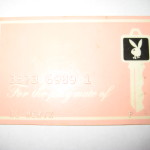 Playboy Club Playmate Key card