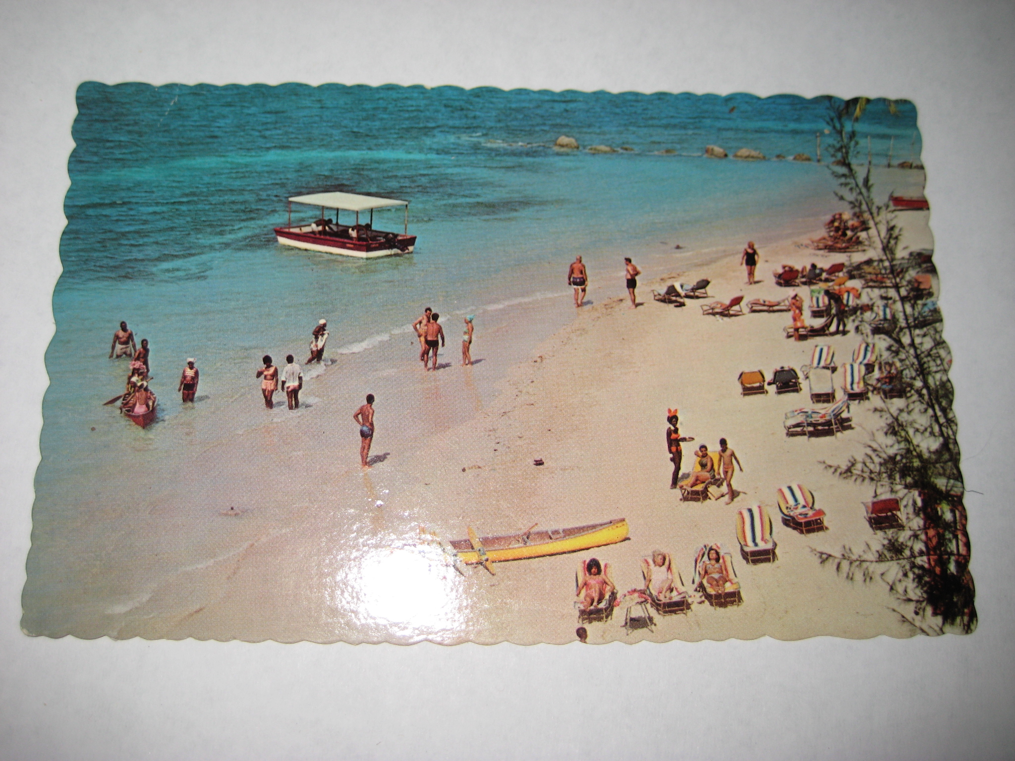 Playboy Club Jamaica Post Card Front 4495