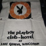 Playboy Lake Geneva Unused Golf Towel