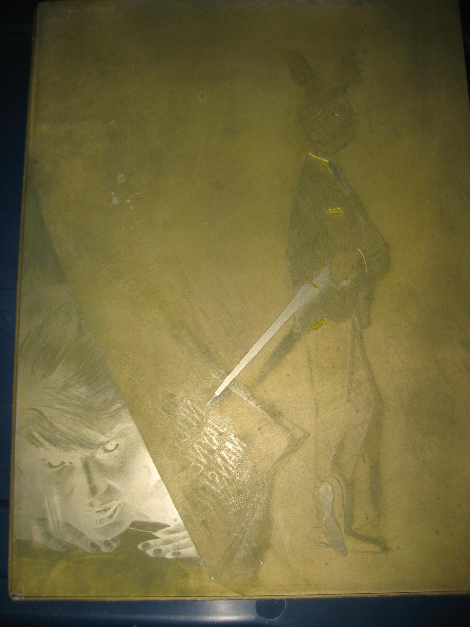 Playboy Printing Plate June 1963 Jayne Mansfield