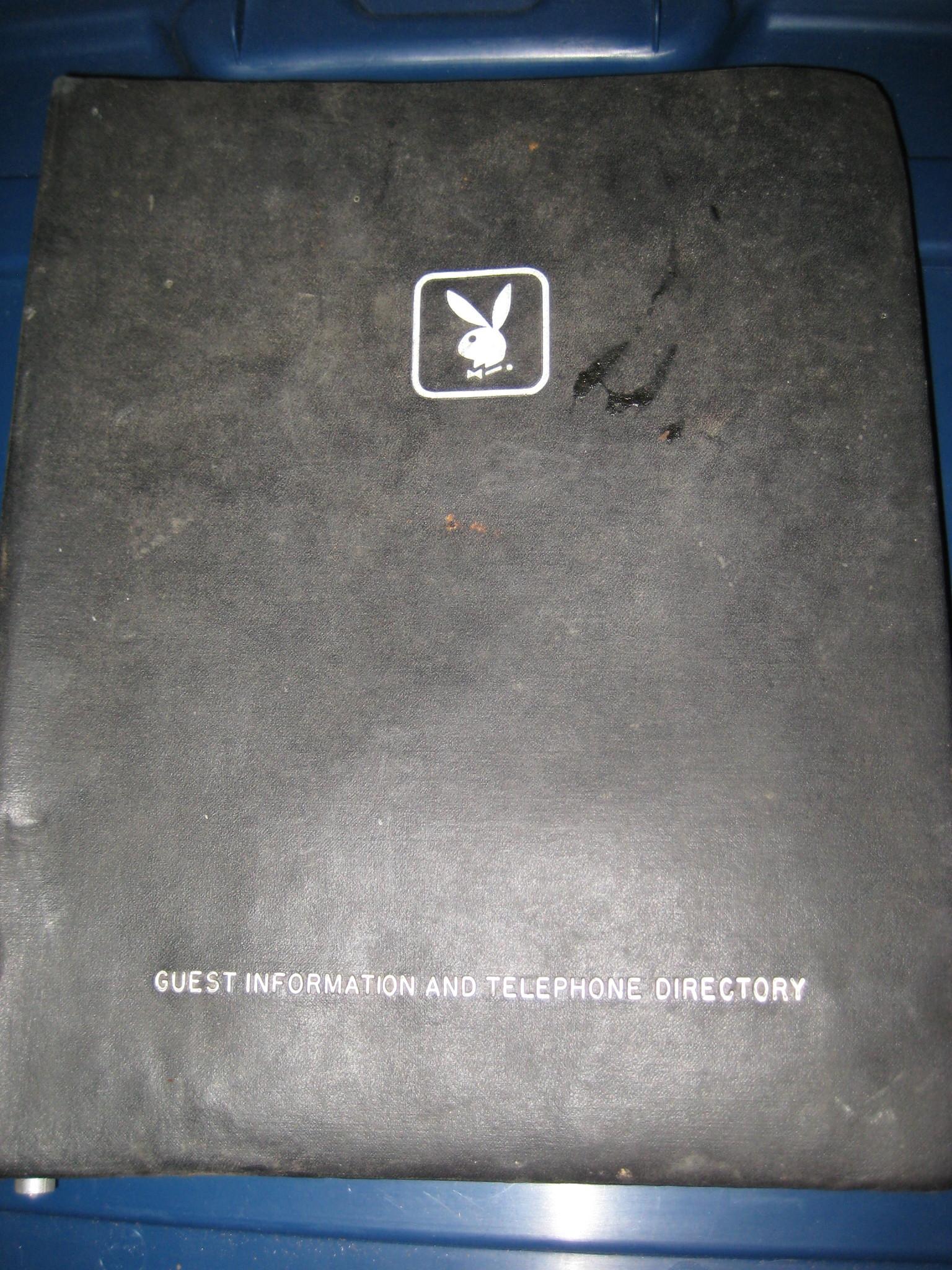 Playboy Club Lake Geneva Telephone Directory
