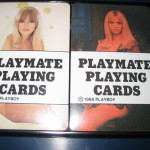 1968 Playboy Playmate Playing Cards