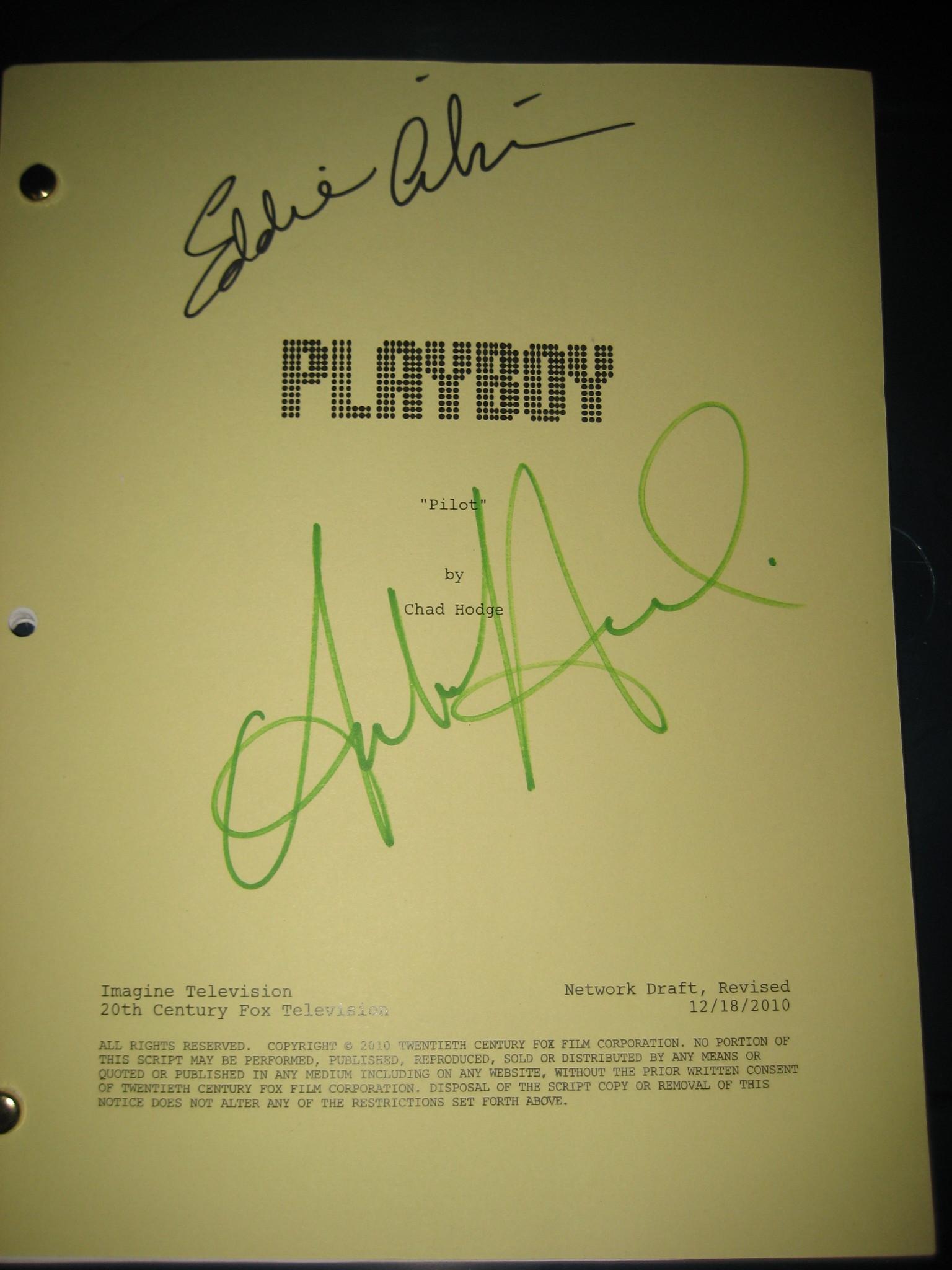 Playboy Club Pilot Script