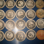 Playboy 25th Anniversary Wooden Nickels