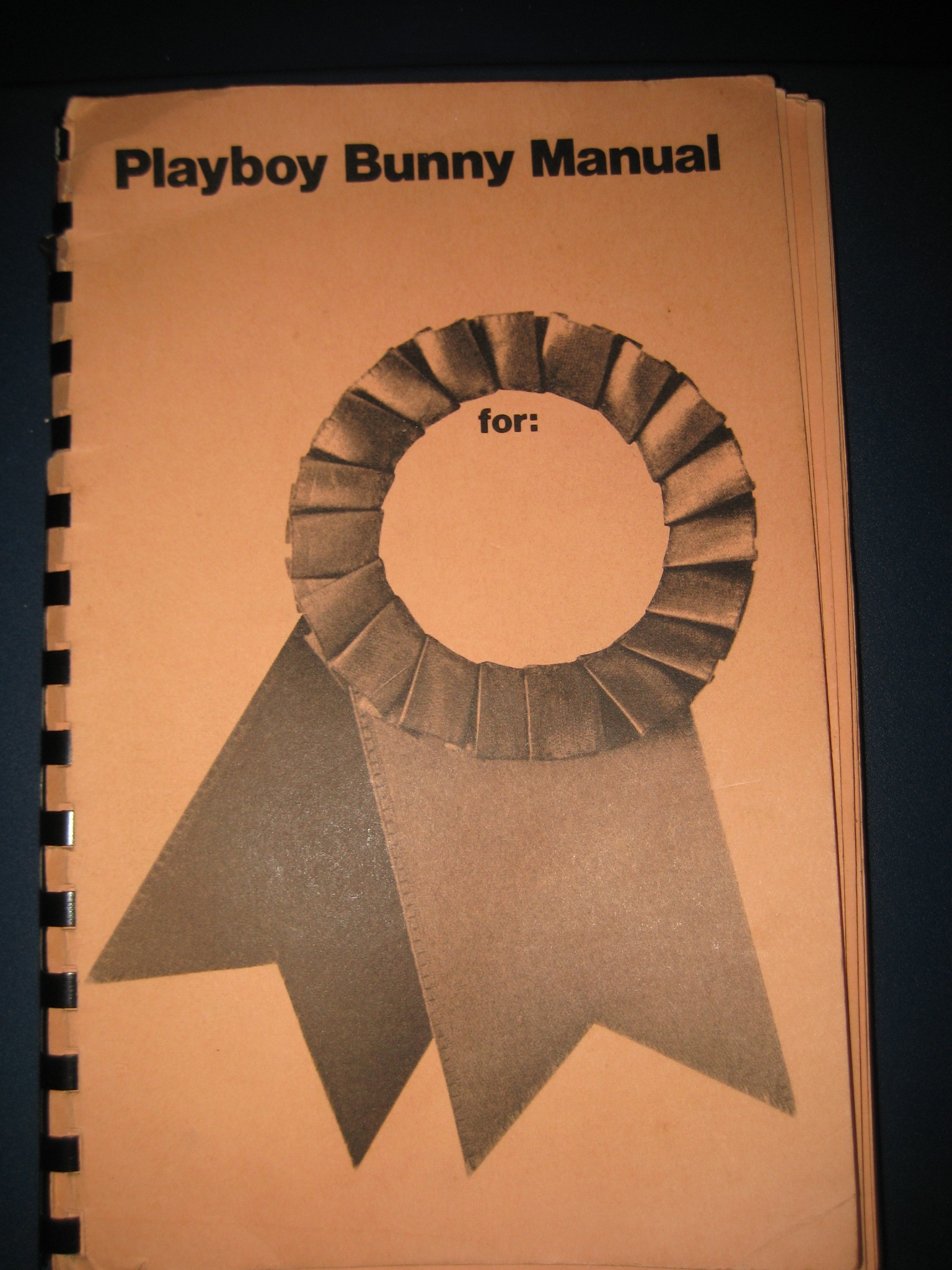 Playboy Bunny Manual 1971