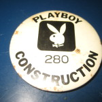 Playboy Atlantic City Construction Badge