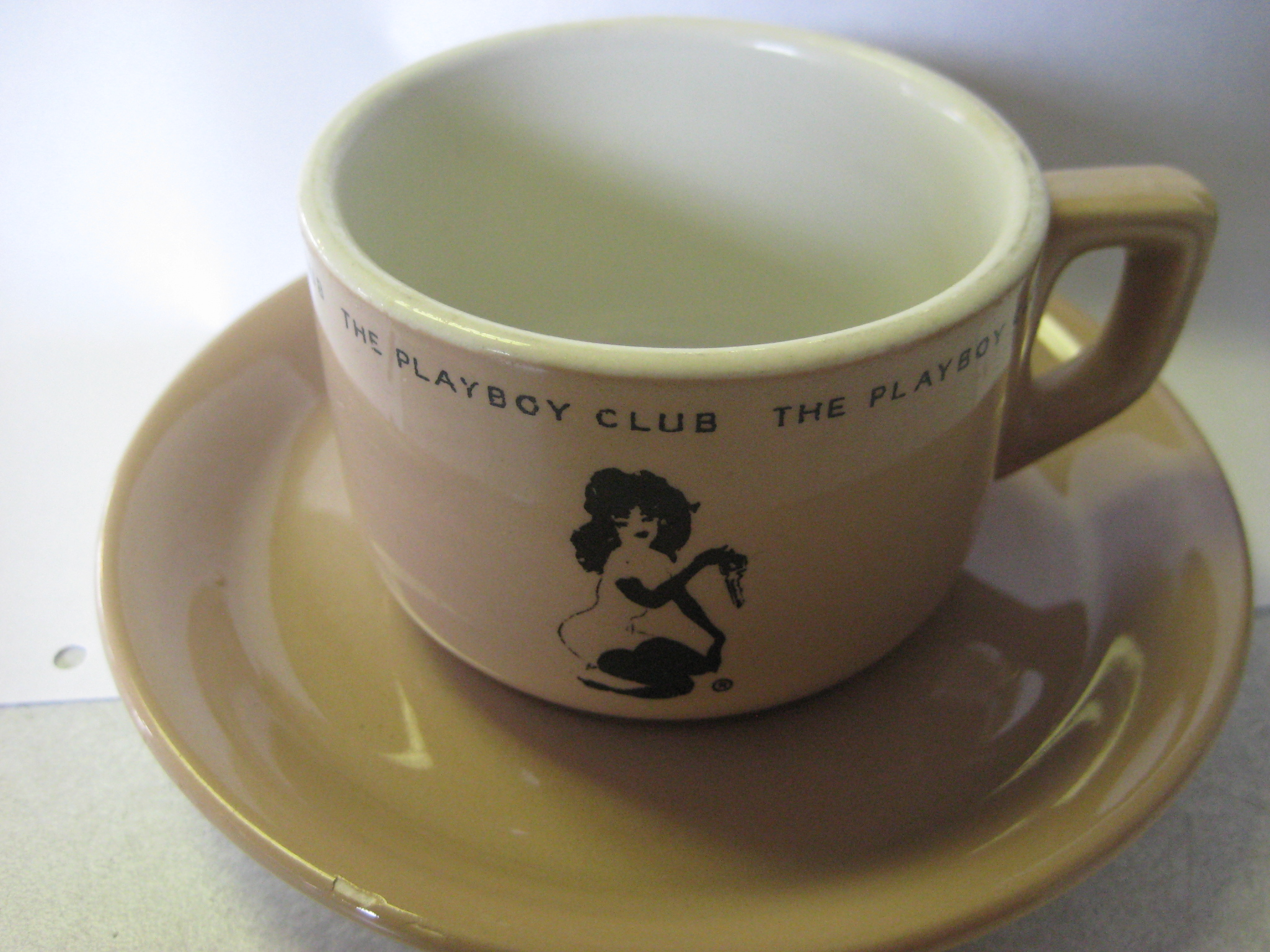 Playboy Dunn and Bennett Cup and Saucer