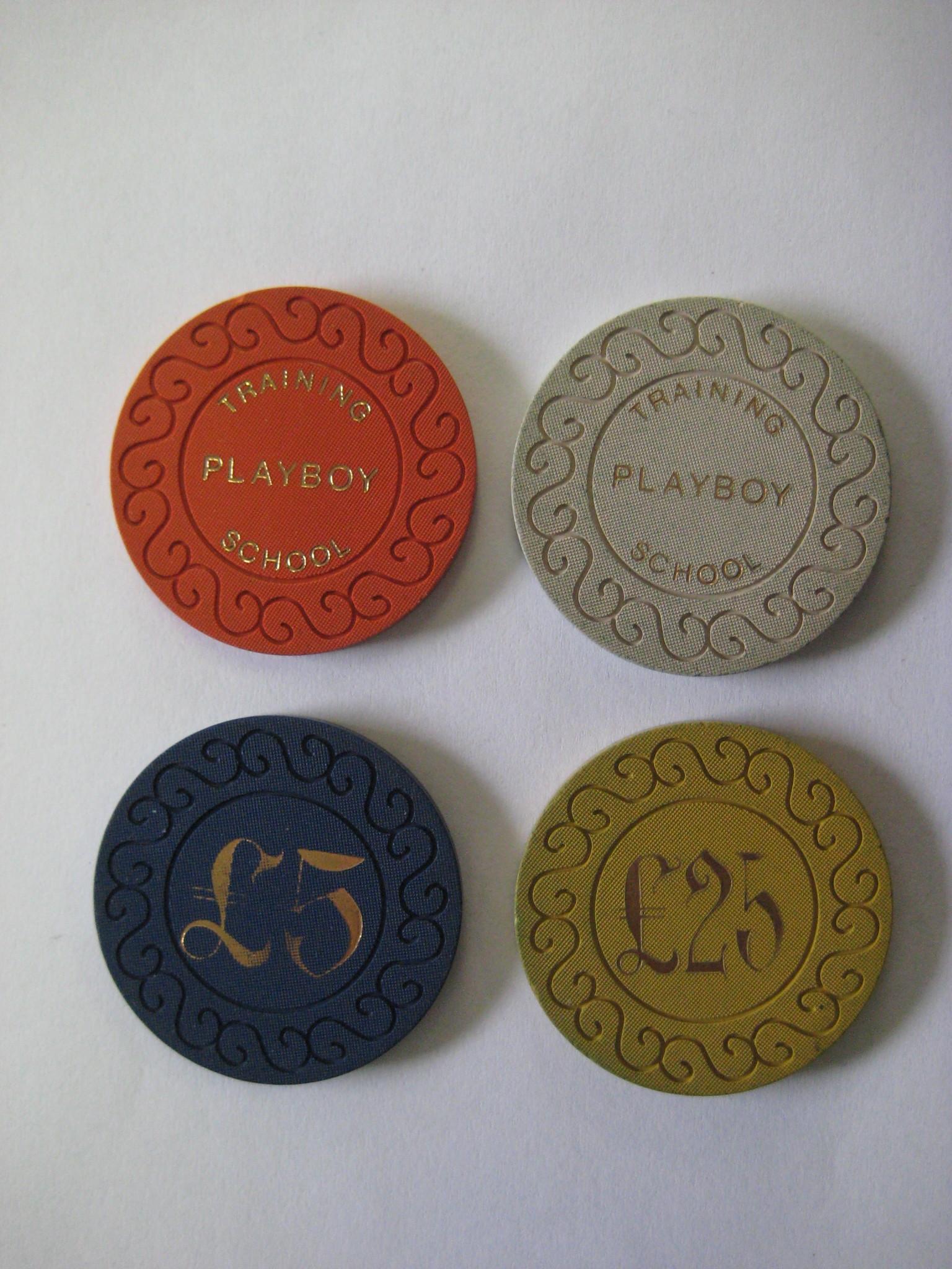 Playboy Training School Casino chips