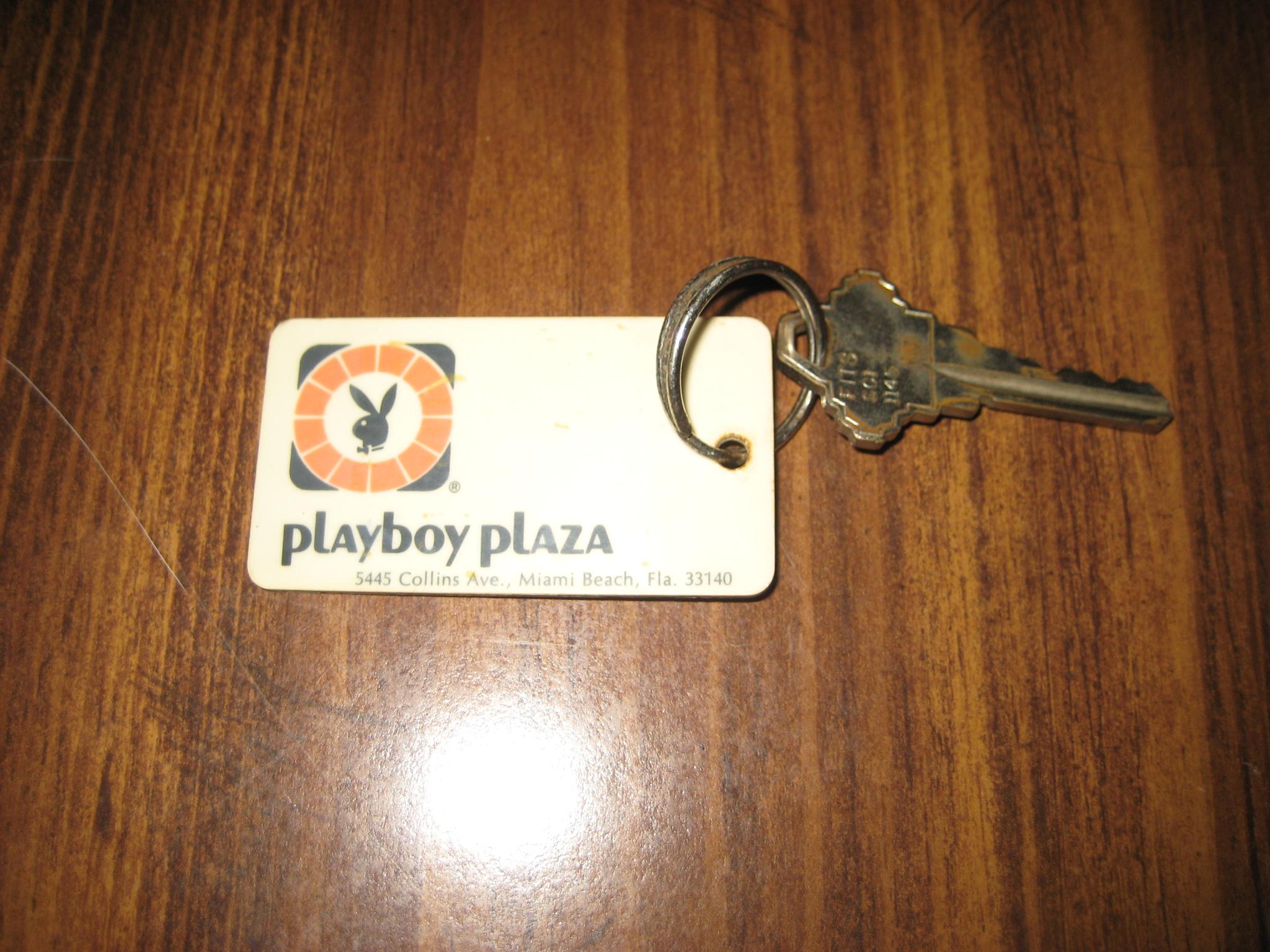 Playboy Plaza Miami Beach Room Key