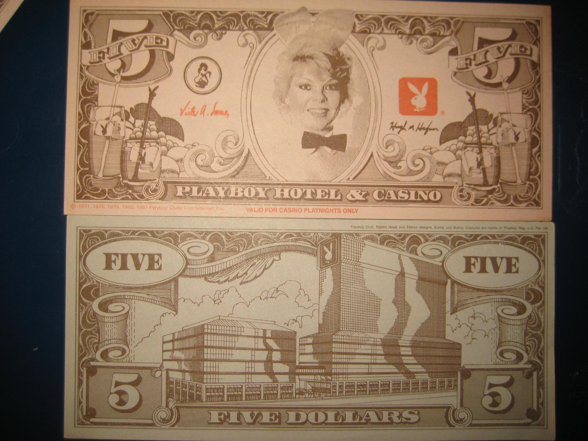 $5 Dollars Playboy Casino Playnight
