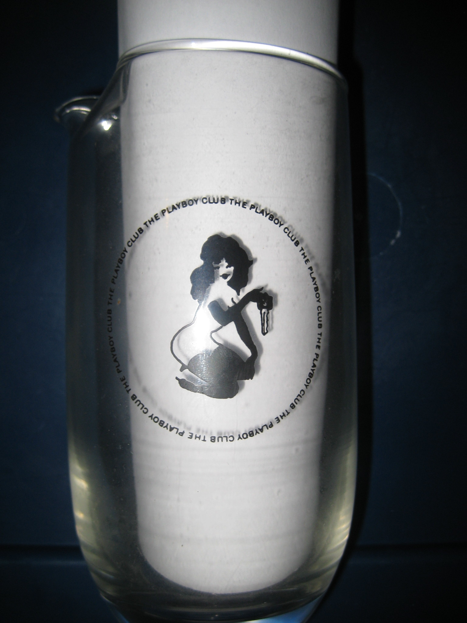 Playboy Club Martini Pitcher