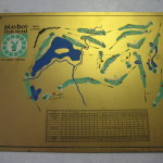 Playboy Club Lake Geneva Brass Golf Course Plaque