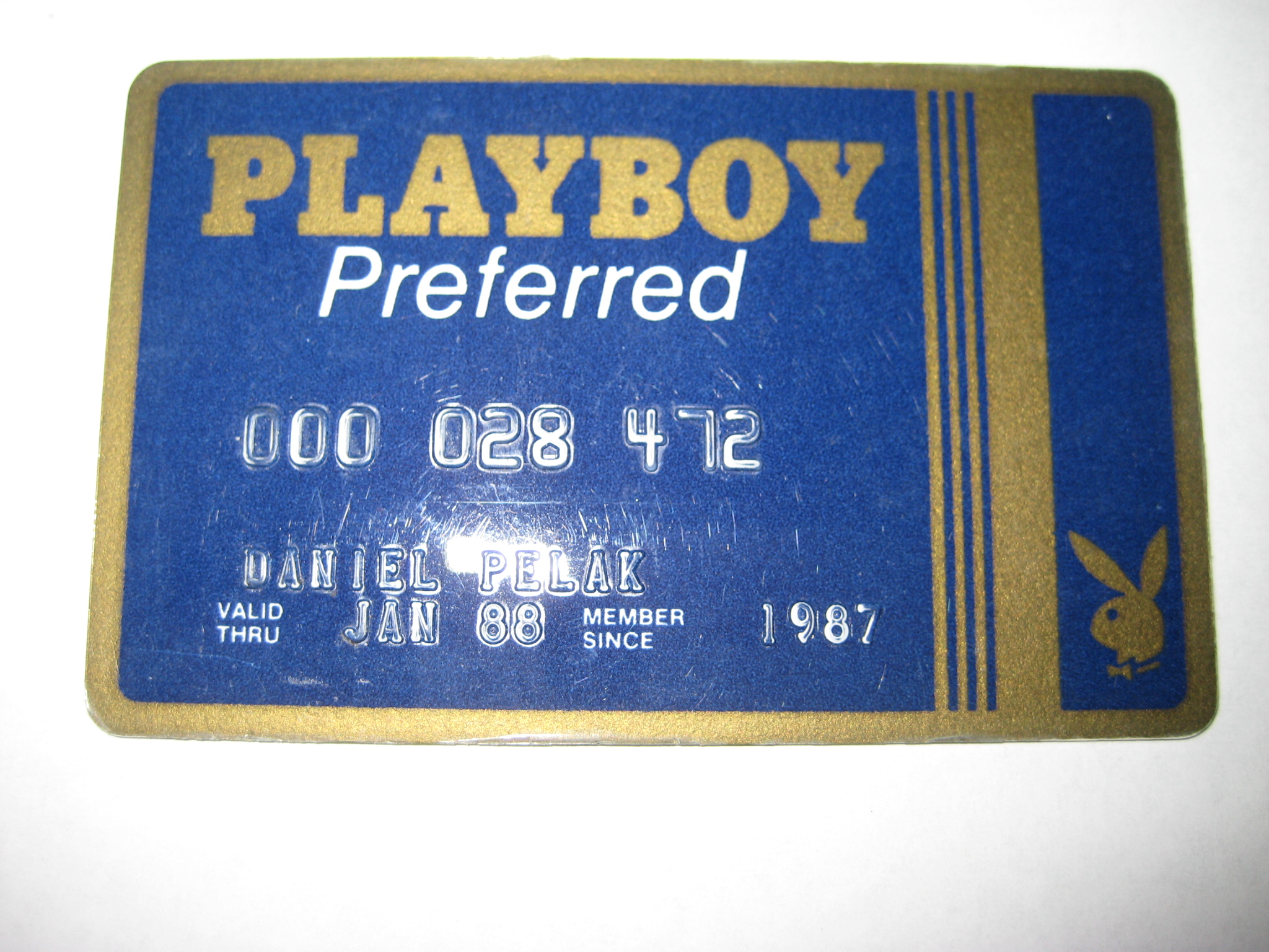 Playboy Preferred Card