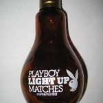 Playboy Club Light Bulb Matches