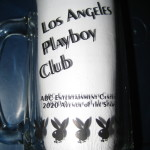 Los Angeles Playboy Club Clear Mug