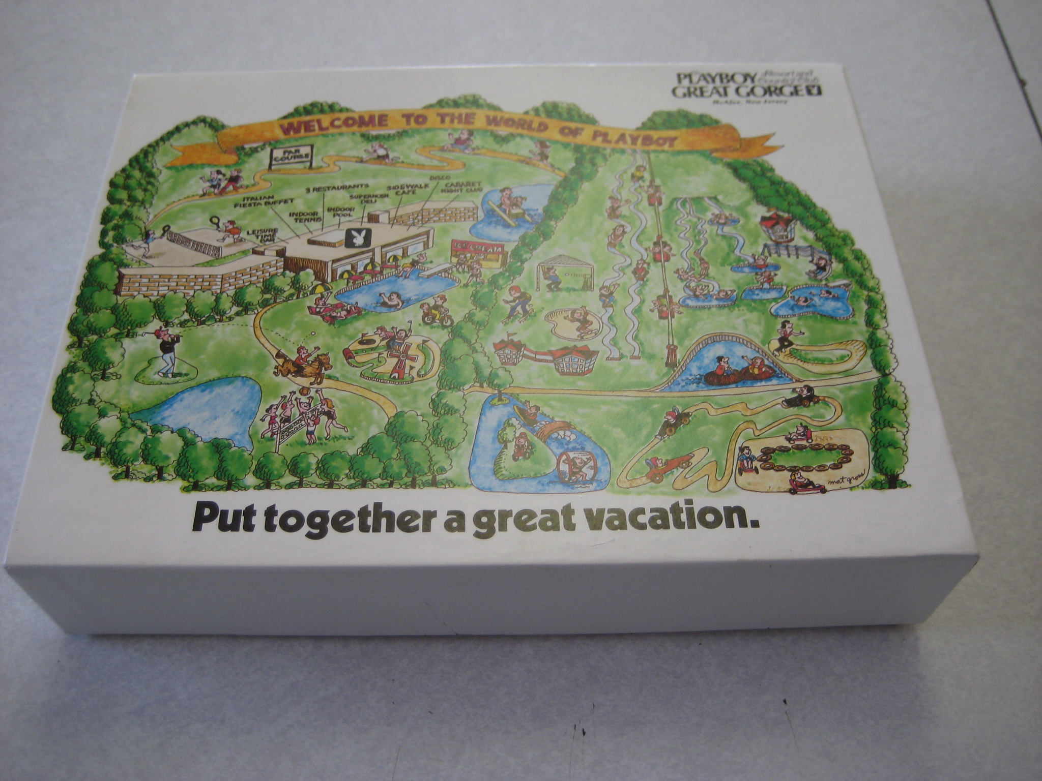 Playboy Vacation Resort Great Gorge Puzzle