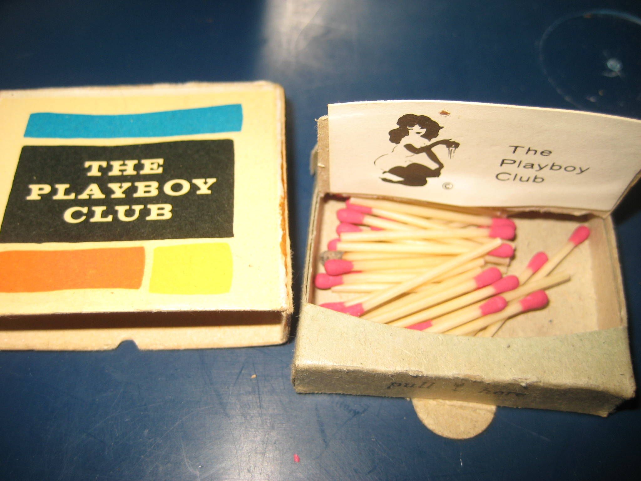 Early Playboy Club Matches Open