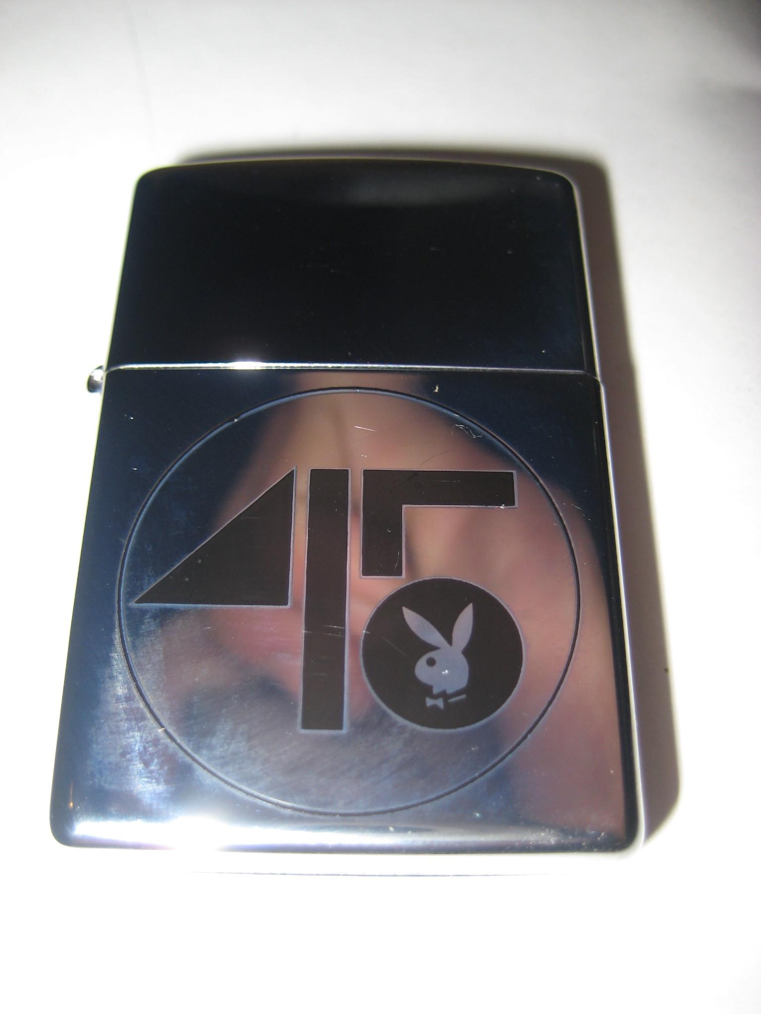 Playboys 45th Anniversary Zippo Lighter