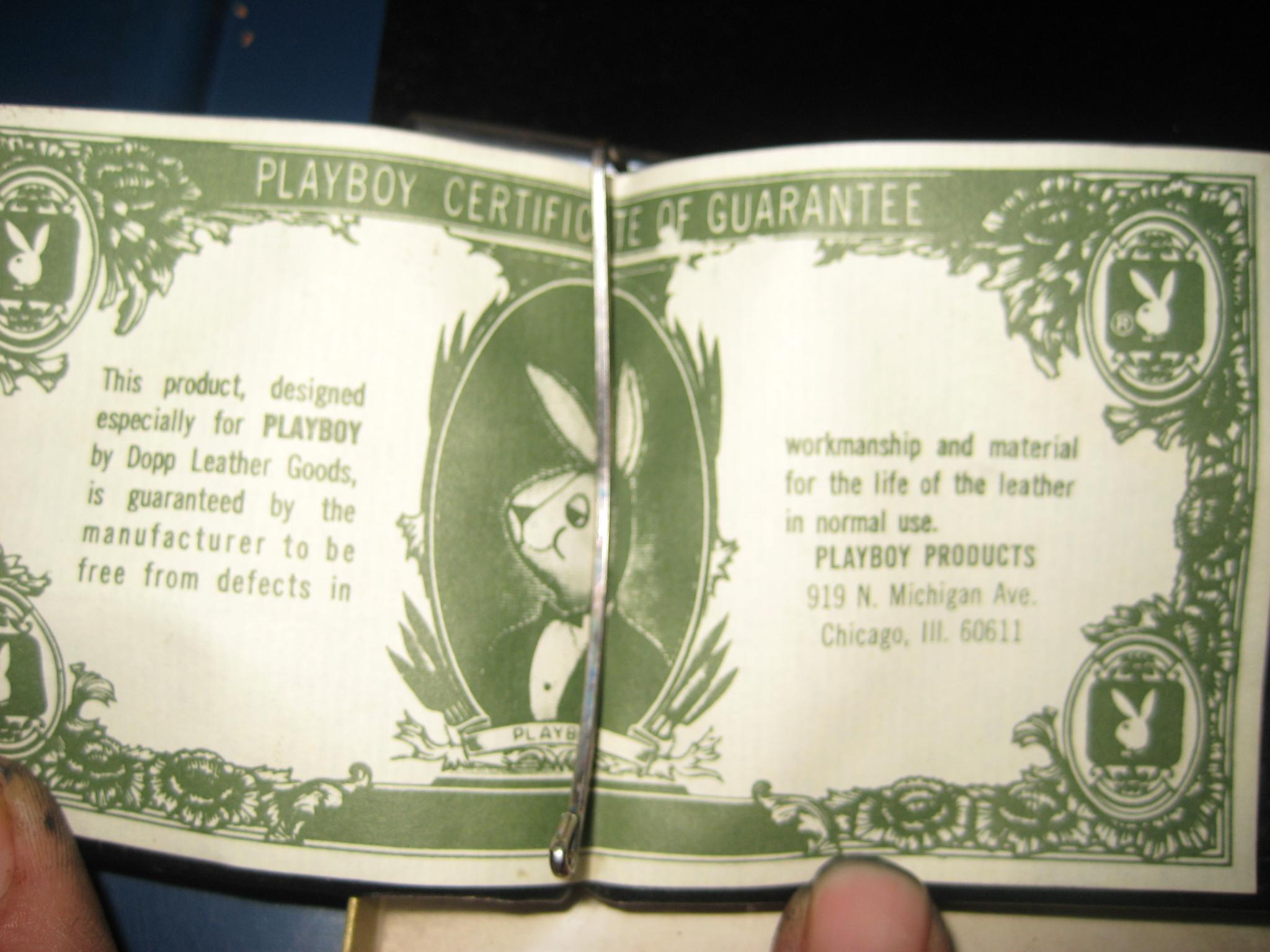 Vintage Playboy Wallet